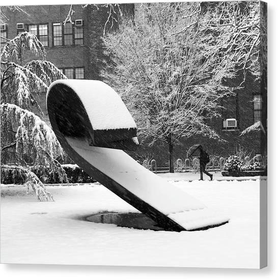 Pratt Institute Sculpture Park Canvas Print