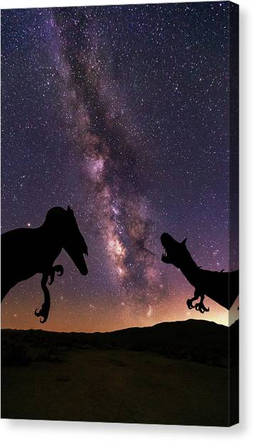 Canvas Print featuring the photograph Pre Historic by Tassanee Angiolillo