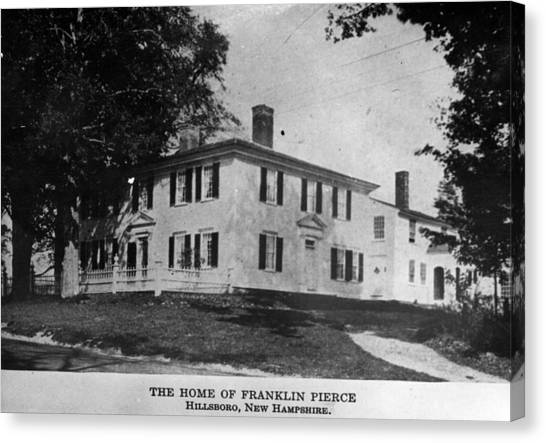 Presidents House Canvas Print by Hulton Archive