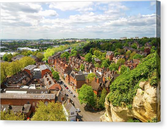 Nottinghamshire Canvas Print - Primavera A Nottingham by Not A Spectator But An Actor Of The Scene