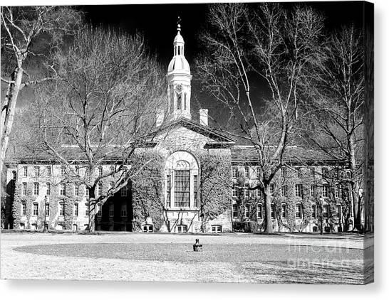 Princeton University Canvas Print - Princeton University New Jersey by John Rizzuto