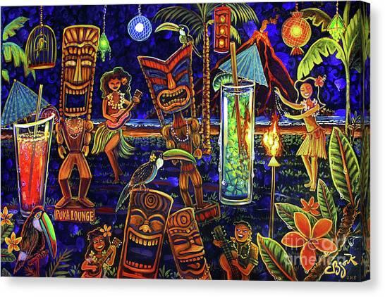 Puka Lounge Canvas Print