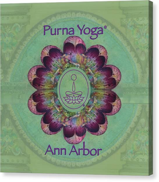Purna Yoga Ann Arbor Canvas Print