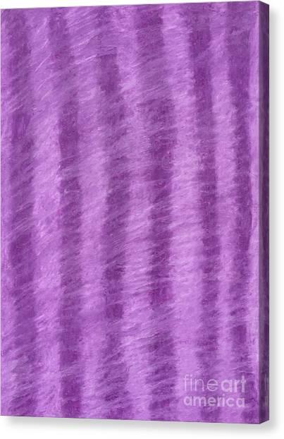 Purple Hazy Nights Canvas Print