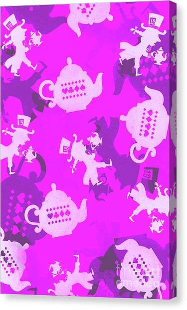 Party Canvas Print - Purple Tea Party by Jorgo Photography - Wall Art Gallery