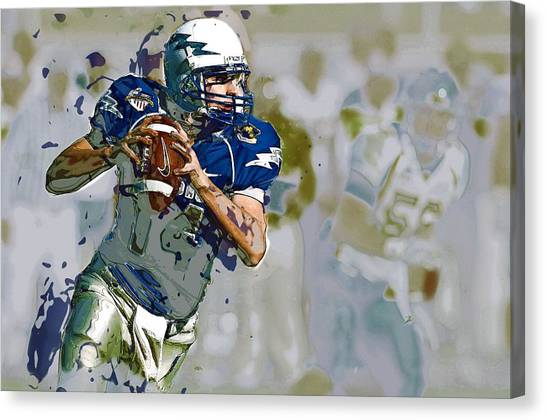 Protective Clothing Canvas Print - Quarterback, American Football by ArtMarketJapan