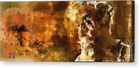 Quijote Canvas Print