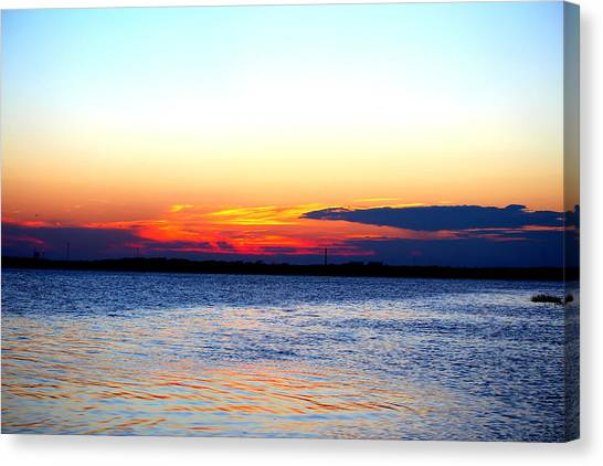 Radiant Sunset Canvas Print