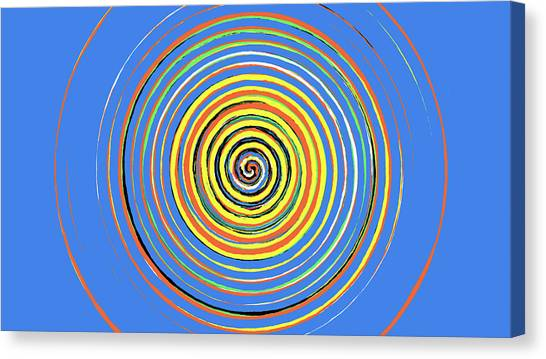 Radical Spiral 19043 Canvas Print