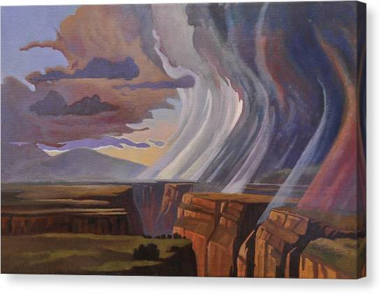 Rainbow Of Rain Canvas Print