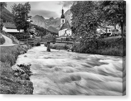 Ramsau, Bavaria Canvas Print