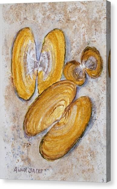 Razor Clams #2 Canvas Print