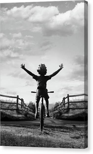 Reach High Canvas Print by Dana Klein