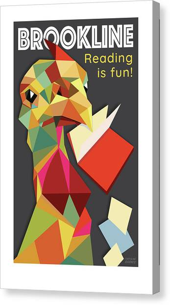 Reading Is Fun Canvas Print