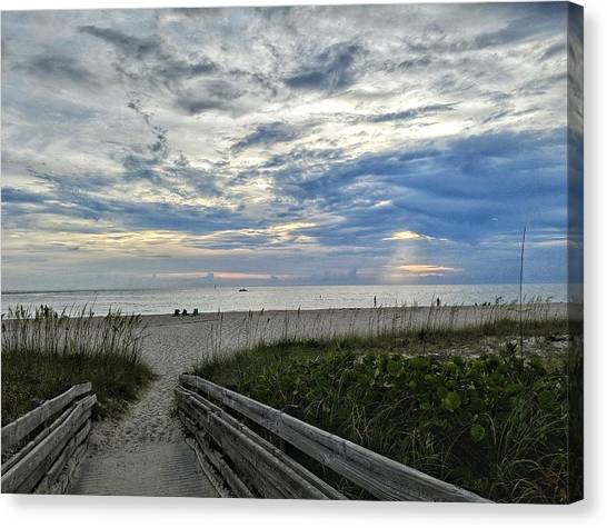 Ready For Sunset Canvas Print