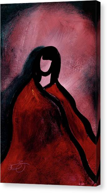 Red Blanket Canvas Print