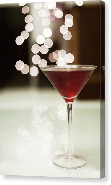 Red Cocktail Canvas Print