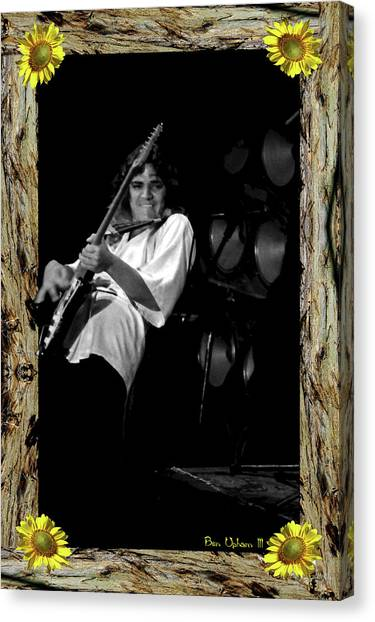 Canvas Print featuring the photograph Redwood Framed Tb #1 by Ben Upham