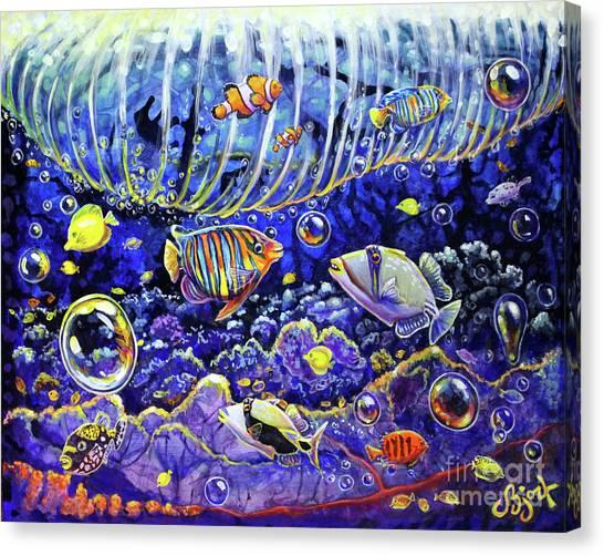 Reef Break Canvas Print