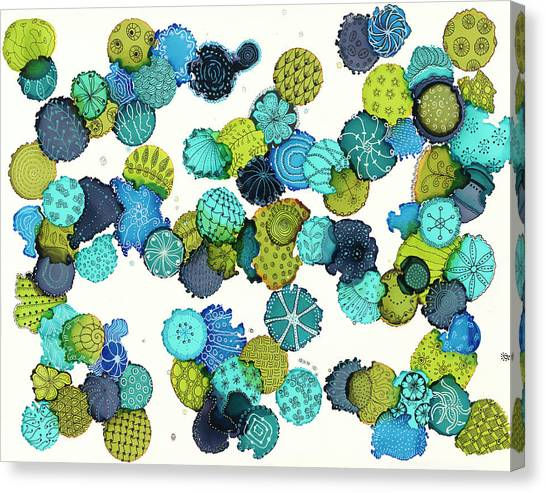 Reef Encounter #5 Canvas Print