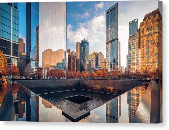 Reflections On History Canvas Print