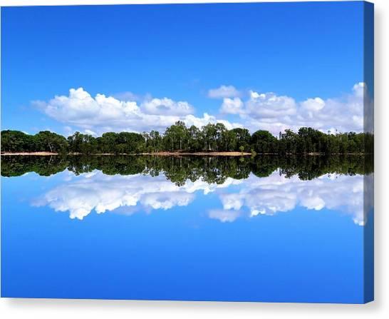 Reflective Lake Patricia Canvas Print