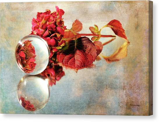 Canvas Print featuring the photograph Reflective Mood by Randi Grace Nilsberg