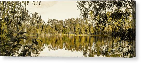 Calm Down Canvas Print - Reflective Rivers by Jorgo Photography - Wall Art Gallery