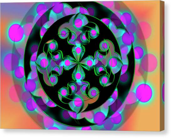 Canvas Print featuring the digital art Religion by Vitaly Mishurovsky
