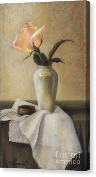 Remembered Rose Canvas Print by Pat Thompson