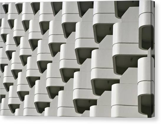Repetition In Modern Architecture Canvas Print