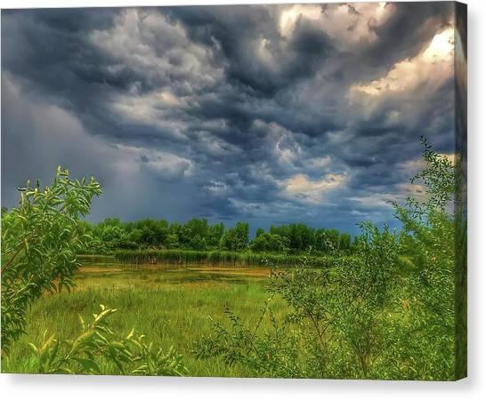 Restless Sky Canvas Print