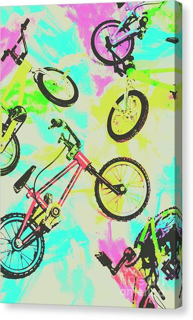 80s Canvas Print - Retro Rides by Jorgo Photography - Wall Art Gallery