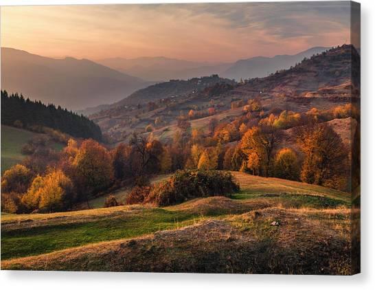 Rhodopean Landscape Canvas Print