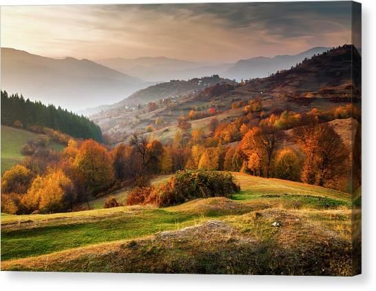 Rhodopean Landscape Canvas Print by Evgeni Dinev Photography