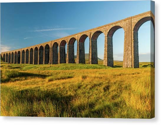 Ribblehead Viaduct Canvas Print by David Ross