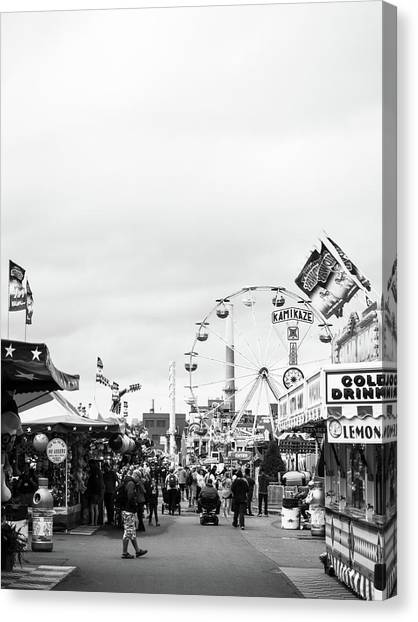 Canvas Print featuring the photograph Rides by Whitney Leigh Carlson