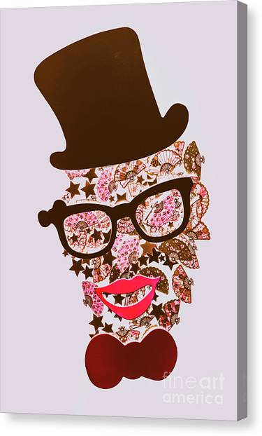 Clown Art Canvas Print - Risby Ringmaster by Jorgo Photography - Wall Art Gallery