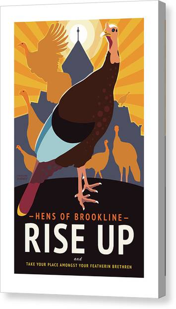 Rise Up Canvas Print