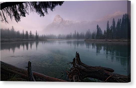 Rising From The Fog Canvas Print