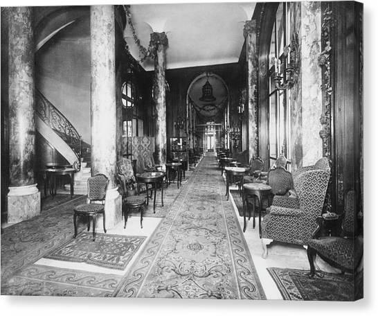 Ritz Interior Canvas Print by H. C. Ellis