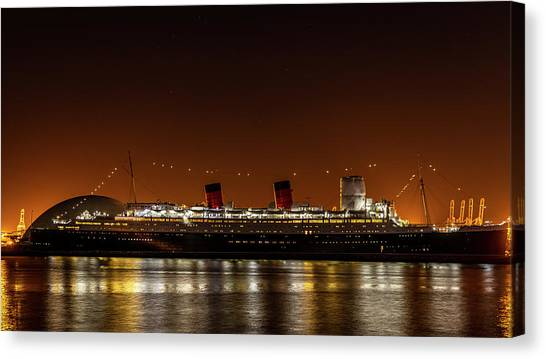 Rms Queen Mary Canvas Print