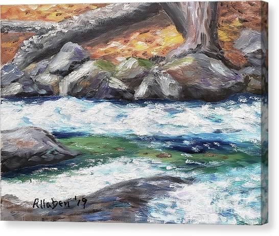 Roaring Brook Canvas Print