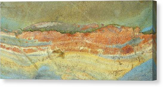 Rock Stain Abstract 2 Canvas Print