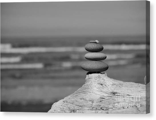 Rock Zen I Canvas Print
