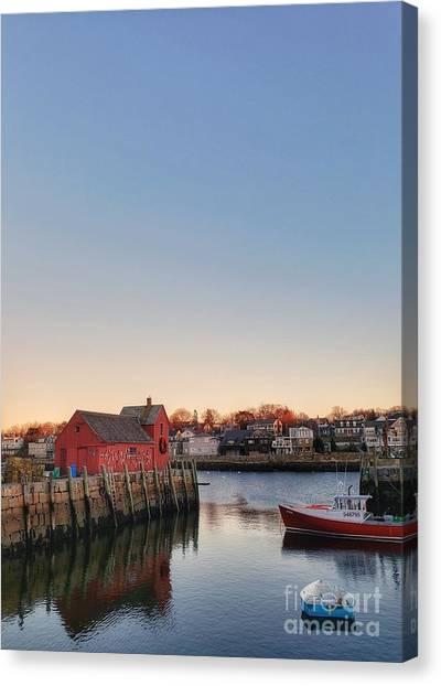 Rockport Massachusetts  Canvas Print
