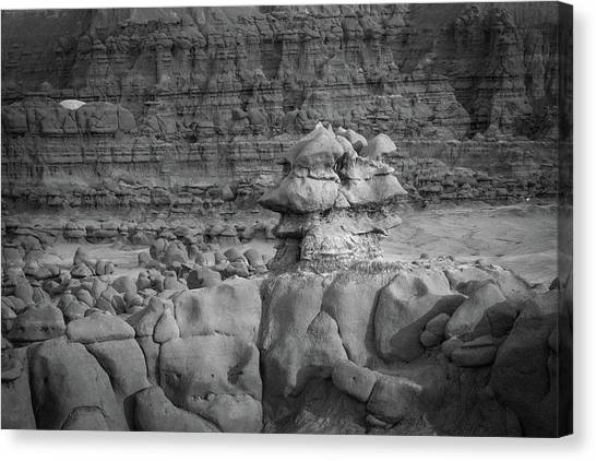 Rocky Desert Formation Canvas Print