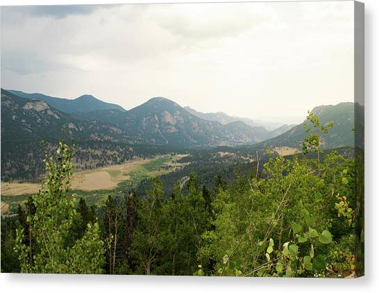 Rocky Mountain Overlook Canvas Print