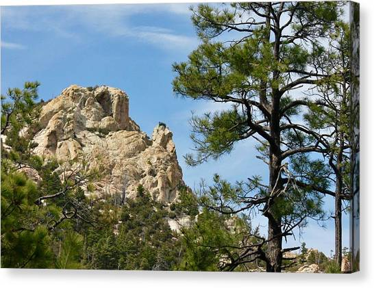 Rocky Peak Canvas Print