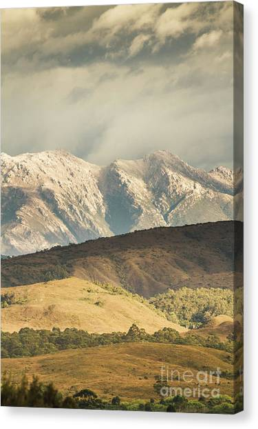 Rolling Hills Canvas Print - Rocky Rural Region by Jorgo Photography - Wall Art Gallery